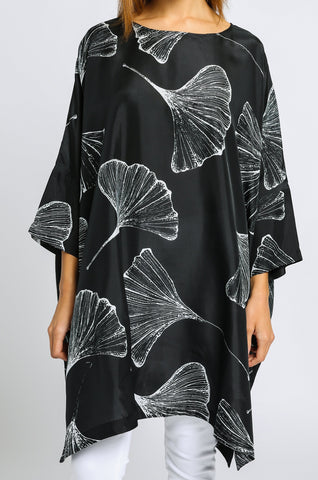 Printed Drop Shoulder Tunic