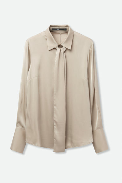 RENEE BLOUSE IN STRETCH SILK GOERGETTE