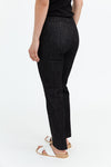STRAIGHT LEG PANT IN COTTON STRETCH
