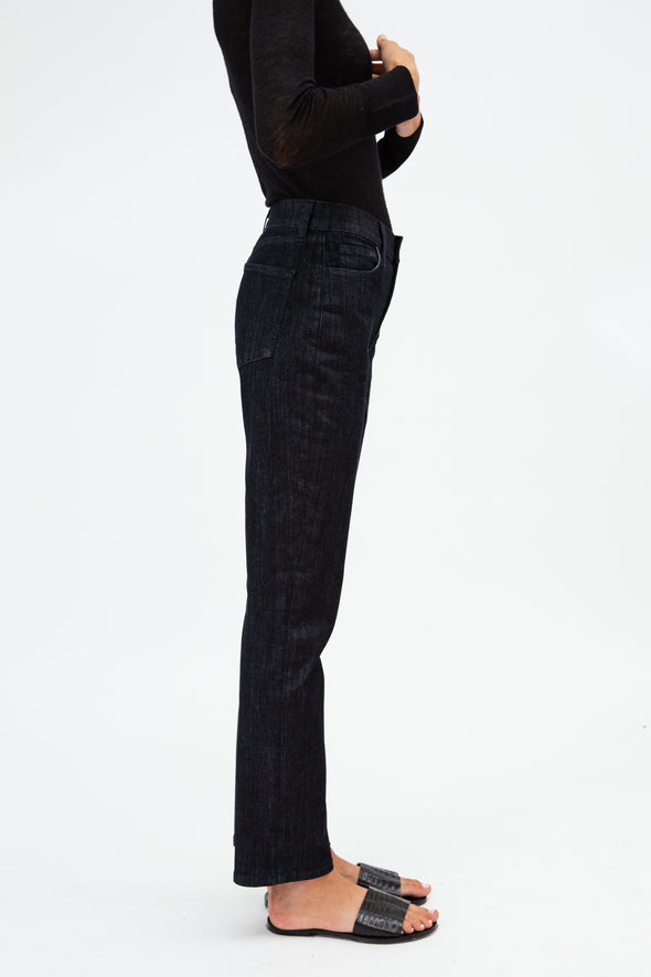 FIVE POCKET STRAIGHT LEG IN STRETCH DENIM