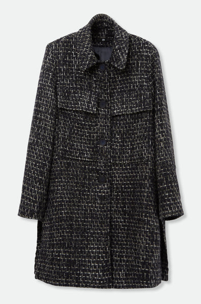 BERLIN COAT IN TWEED