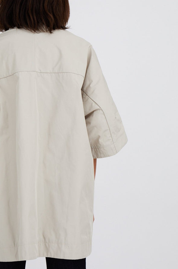 FERRARA JACKET IN JAPANESE MEMORY TWILL