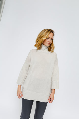 Tunic Turtleneck