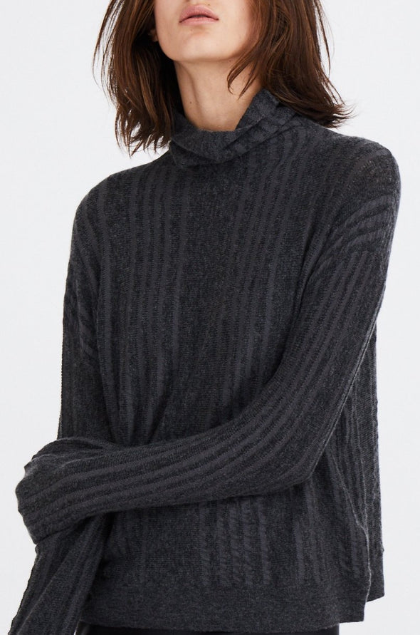 RONA HIGH NECK IN MERINO-CASHMERE BLENDED