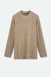BRISTAL SWEATER IN CASHMERE-MERINO BLENDED