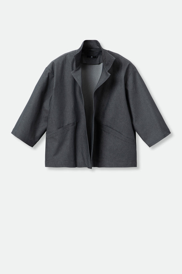 JULES JACKET IN TECHNICAL STRETCH COTTON