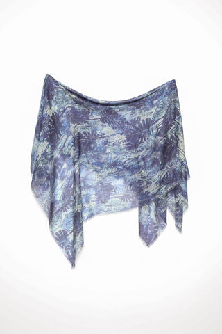 Alonpi Cashmere Links Printed Scarf