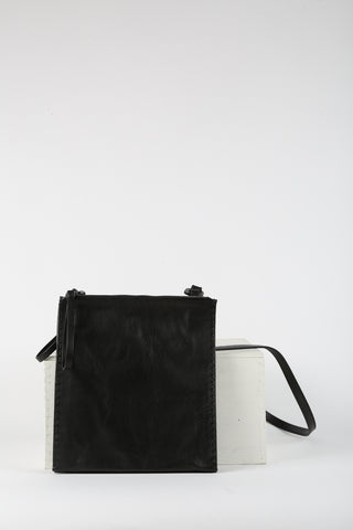 Square Leather Handbag
