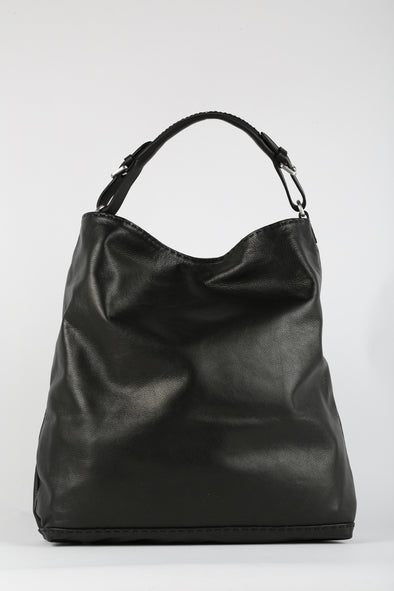 SLOUCH BAG IN ITALIAN LEATHER