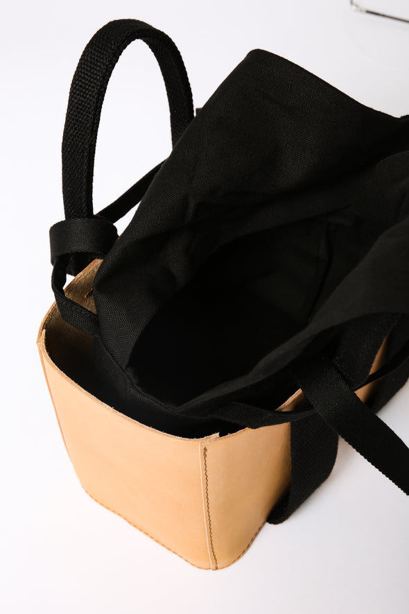 MANON BAG IN FRENCH LEATHER