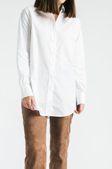 PERFECT SHIRT IN COTTON STRETCH