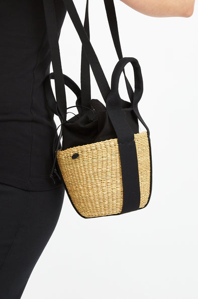 MINIEGG Mini Straw Bag