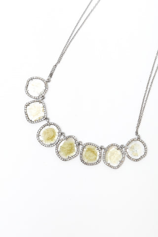 7 Cut Diamond Necklace