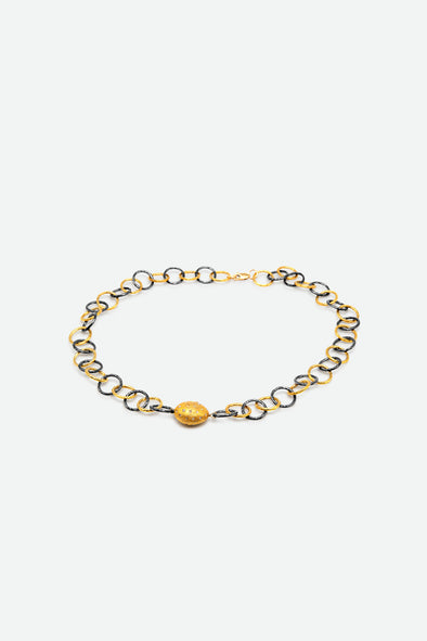ORLY DIAMOND BEAD NECKLACE