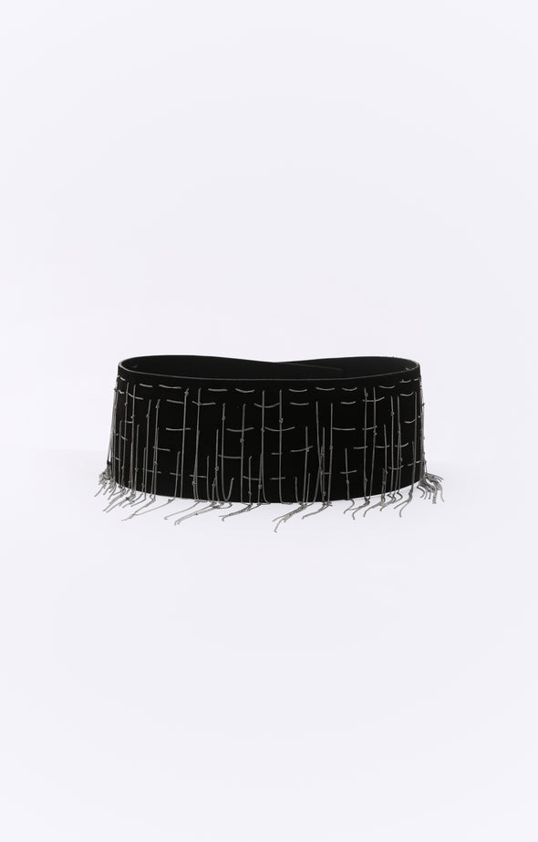 BARI BELT IN LEATHER