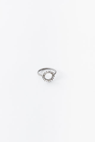 Small Oval Baguette Ring