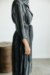 SOPHIE DRESS IN YARN-DYED COTTON BLENDED