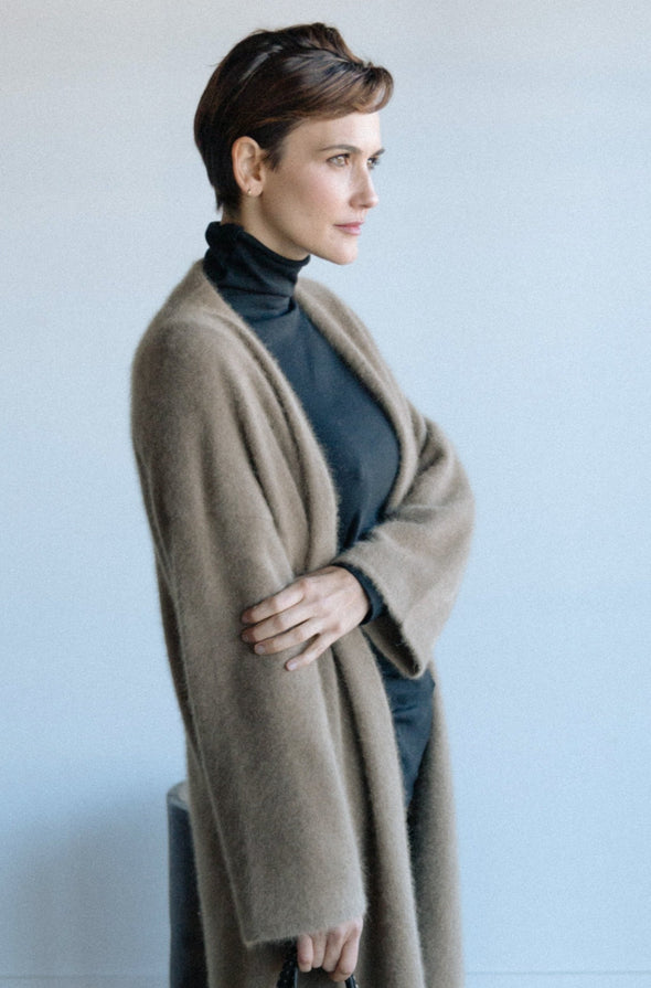 LAVAL CARDIGAN IN LONG STAPLE CASHMERE BLEND