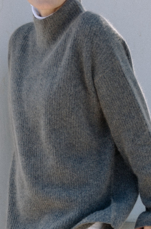 EVRY HIGH NECK IN CASHMERE-MERINO BLEND