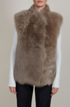 SADIE VEST IN ITALIAN SHEARLING AND GOOSE DOWN