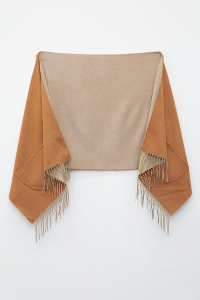 STOLE WITH POCKETS IN CASHMERE