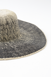 OMBRE FLOPPY HAT IN STRAW