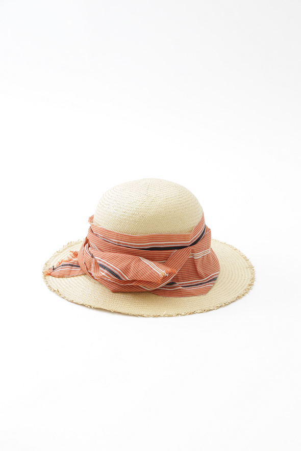 NATURAL PANAMA HAT IN STRAW