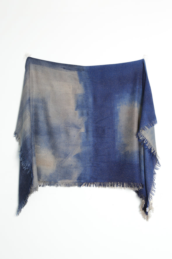 DIJON HANDPAINTED SCARF IN ITALIAN CASHMERE