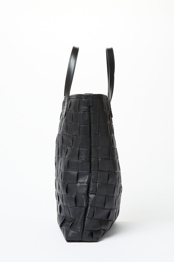 CESENA TOTE IN LEATHER