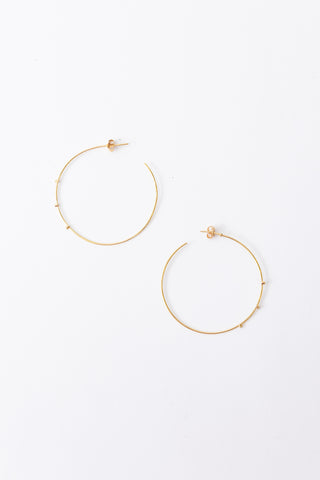 Large Gold Hoop