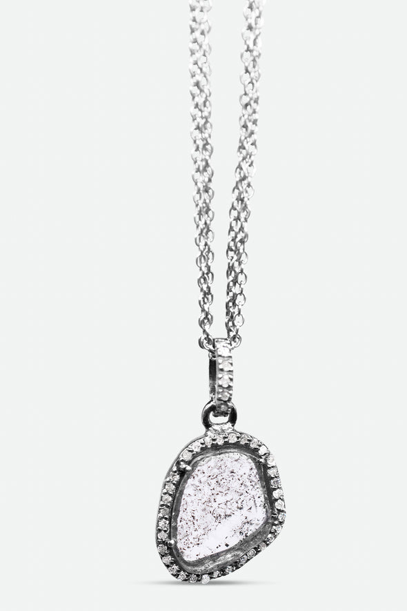JLOUISE Cut Diamond Pendant