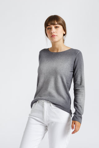 Jewel Neck Long Sleeve