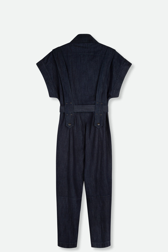 VIRGINIA JUMPSUIT IN LIGHTWEIGHT DENIM