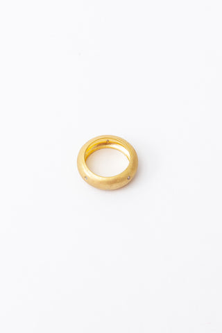Brushed Gold Band