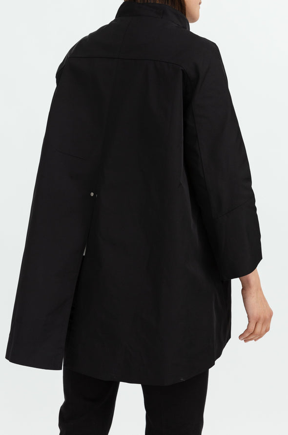 3/4 Sleeve Swing Coat