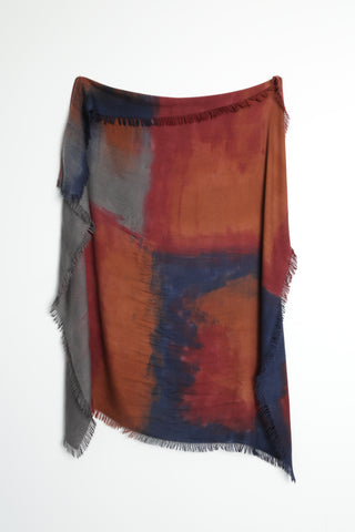 Alonpi Cashmere Lodo Handpainted Scarf