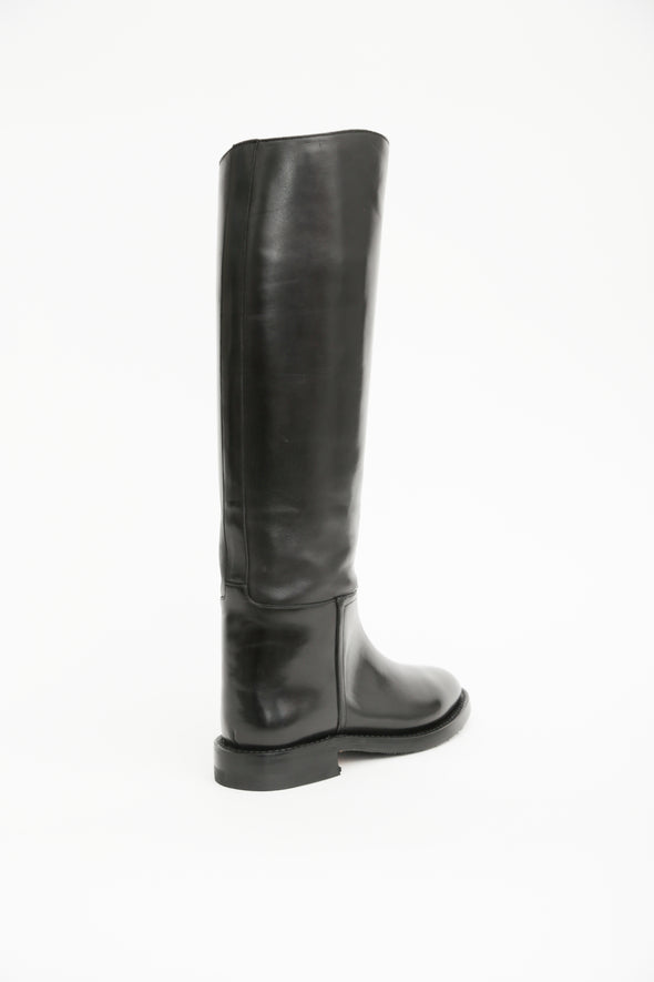 VENETO BOOT IN ITALIAN LEATHER