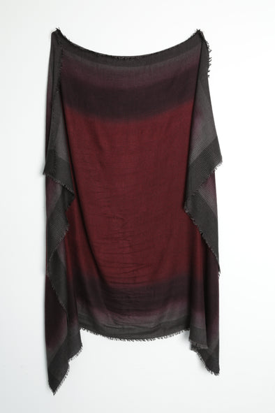 SPECTRA HANDPAINTED SCARF IN ITALIAN CASHMERE