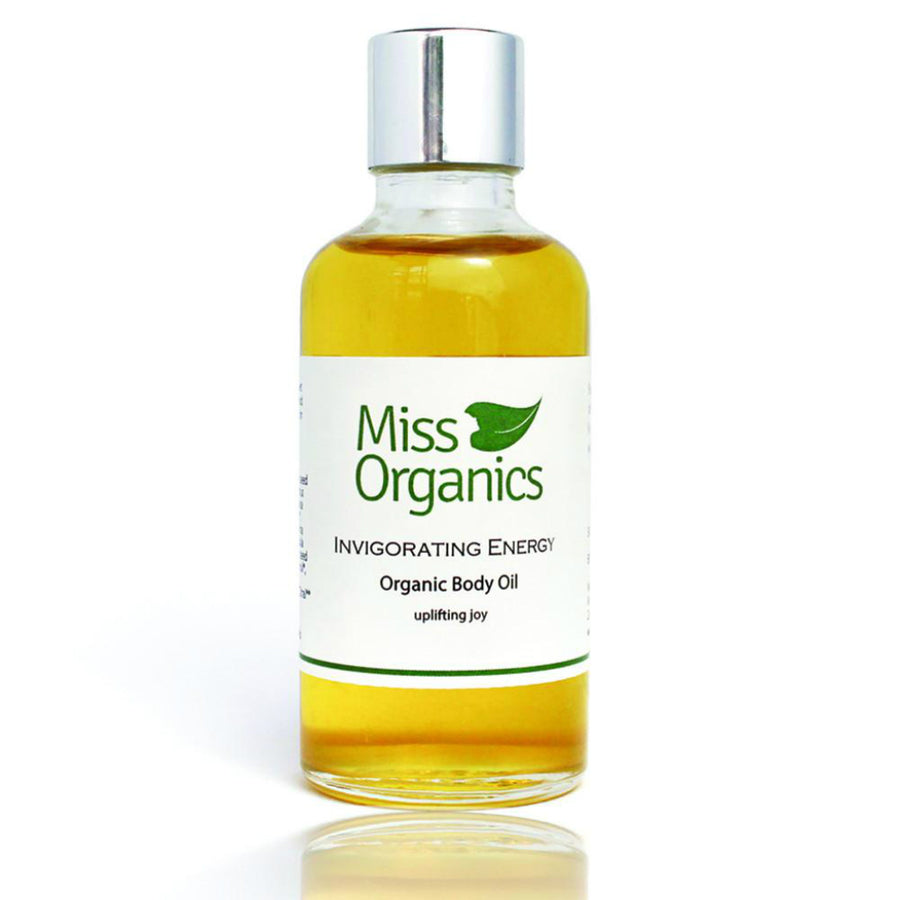Invigorating Energy Organic Body Oil - Radiant Roots