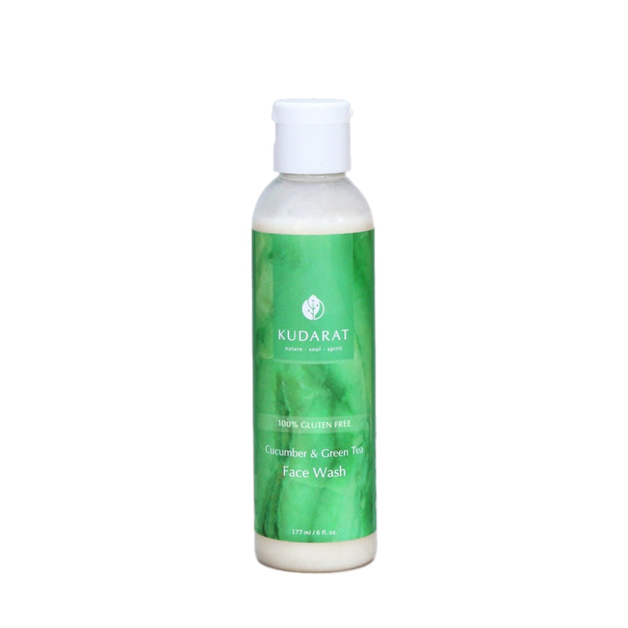 Cucumber and Green Tea Face Wash - Radiant Roots