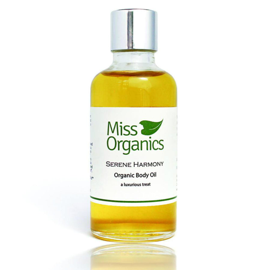 Serene Harmony Organic Body Oil - Radiant Roots