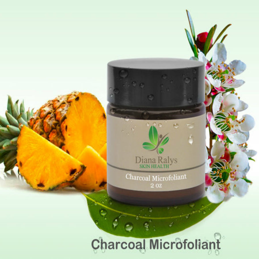 Charcoal Microfoliant - Radiant Roots