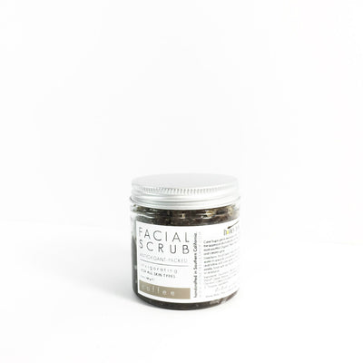 'COFFEE' Facial Scrub - Radiant Roots