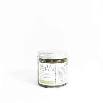 'GREEN TEA MATCHA' Facial Scrub - Radiant Roots