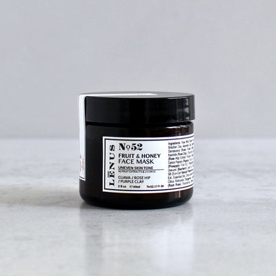 MUD & HONEY FACE MASK with FRUIT EXTRACTS - Radiant Roots