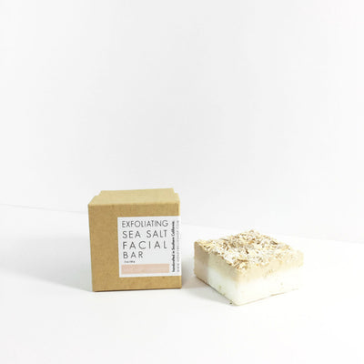 SEA SALT OATMEAL FACIAL BAR - Radiant Roots