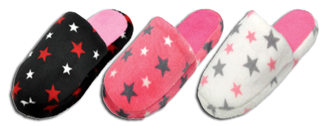 Wholesale Children's Assorted Soft Fluffy Slippers Sandals Flat Angela NSU13
