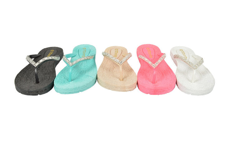 Wholesale Women's Shoes Flat Slippers Assorted Sandals Esmeralda NGg6