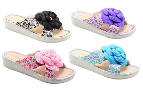Wholesale Women's Shoes Flat Slippers Assorted Sandals Annalise NG1w
