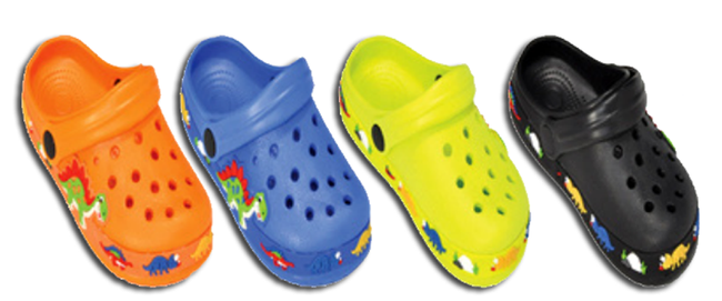Wholesale Toddler's Assorted Crocs Slip-On Rubber Sandals Shoes Phoebe NSU17